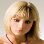 coiffure femme frange
