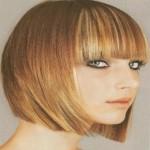 coupe de cheveux frange