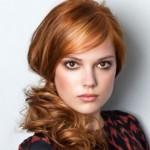 coupe de cheveux rousse
